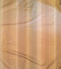 DESIGNERS GUILD Surabaya Kaori Japanese Stripe Grey Gold Panel 2 yd + New