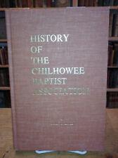 History of the Chilhowee Baptist Association, John Hood Maryville TN, Signed 1st