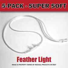 NEW - Salter Labs Oxygen Nasal Cannula. Pak of 5(five) Style 16SOFT w/4ft Tubing