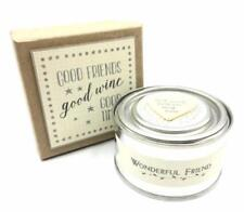 Friend Gift - Good Times Tin Candle In Gift Box East Of India 2115EOI