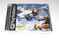 Sno-Cross Championship Racing for Playstation PS1 Complete Fast Shipping!