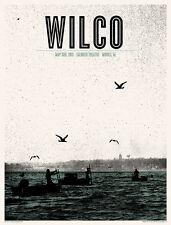 Wilco Gig Poster, Montgomery 2011 (Original Silkscreen) 19 x 25' Print