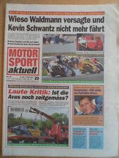 MOTOR SPORT aktuell 10-16.5. 20 - 1995 Jeres GP DTM-Avus Waldmann Schumacher x