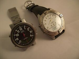 2 GREAT TIMEX GENTS WATCHES.