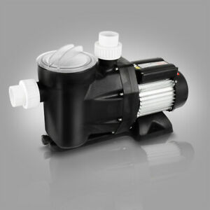B-Ware 33600l/h 1500W Schwimmbadpumpe Umwälzpumpe  Wasserpumpe Filterpumpe