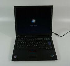 IBM Thinkpad R52 - 1,86GHz 2GB RAM 160GB HDD WLAN 15,1 TFT Windows 7