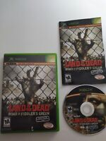 Land of the Dead: Road to Fiddler's Green Microsoft Xbox COMPLETE Rare Horror