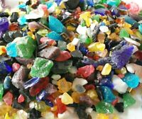 Mixed Colour Glass Chippings 5-15mm Home and Garden Memorial Craft P&P INCLUDED