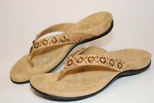 Vionic Flip Flops Floriana Womens Size 10 42 Flat Sandals Comfort Shoes TVW4401