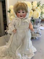 """15""""  Antique Bisque German Catterfelder Puppenfabrik CP 208/38  Baby Doll Girl"""