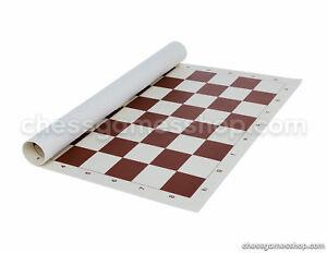 "Standard Tournament Vinyl chessboard - rollup chess board - 2,25"""