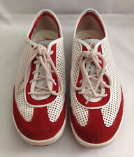 Diesel Sneakers Shoes Red White E Motion W Women's Size 10 US
