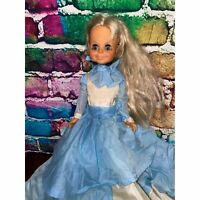 Vintage Velvet Doll Crissy Cousin 1969 Ideal 16""