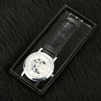 Slot Watch Box Case Travel Organizer Holder Jewelry Gifts Storage Pocket Hot x1