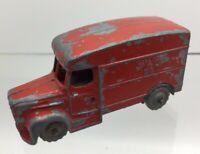Vintage ROYAL MAIL EIIR Red Van No. 11 - Die Cast -  Play worn