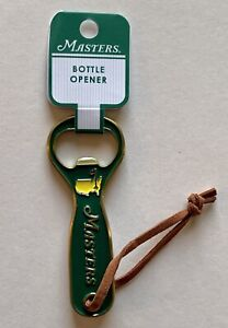 2021 Masters golf bottle opener green augusta national pga new