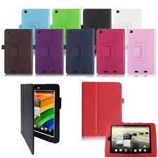 PU Leather Folio Holder Case Cover  FOR Acer Iconia B1-730 hd  A1-810 & A1-830