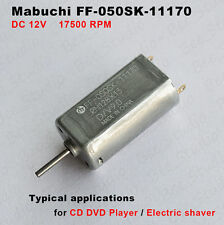 Mabuchi FF-050SK-11170 DC 9V 12V High Speed Motor For CD Player Electric Shaver