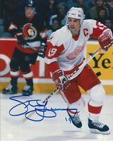 Steve Yzerman HOF Autographed Signed 8x10 Photo Red Wings REPRINT