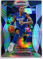 2019 Panini Draft Picks Silver Prizm PJ Washington Jr. Rookie RC #77, Hornets