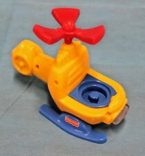 Fisher Price Little People Chase n' Race Helicopter (77980) - 2001