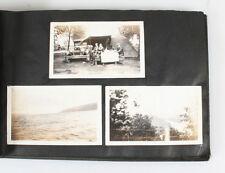 BEAUTIFUL 1920S PHOTO ALBUM OF MANY CARS, FARMS, BEACH,   MORE