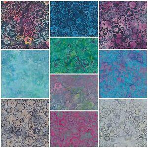 Batik Fabric, Sakura Blossom, 100% Cotton, FQ ,Crafting, Quilting Patchwork