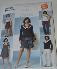 sewing pattern dress and outfit with sailor polka dot style siz 6 to 14