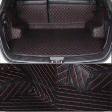 Kofferraumschutz Matte Passend Für VW Scirocco TDI TSI Rline Leder Schwarz Rot