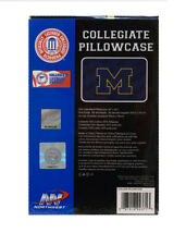 University of Michigan Wolverines NCAA College 20x30 Standard Pillowcase Sham