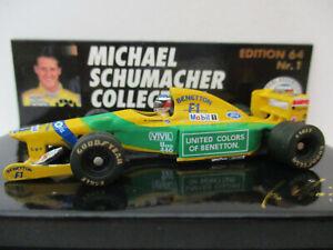 BENETTON FORD B192, #19, Michael Schumacher, First win Spa 1992, 1:64!!!