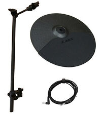 "Alesis Nitro Expansion Set: 10 Inch CHOKE Cymbal, 22"" Arm,Clamp,10ft Cable-DMPad"