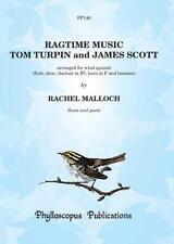 Ragtime Music arranged for wind quintet PP140