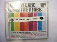Slip N Slide: WE ARE THE KLUBB – 2005 UK CD non-stop DJ Mixed – NEW! BARGAIN!