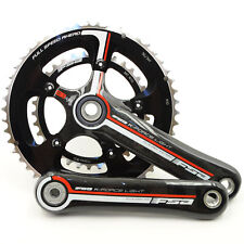 FSA K-Force Light BBright Carbon Road Bike Crankset 50/34 10 Speed 175mm// Black