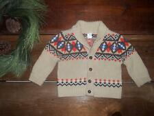 Carters Boy 18M Fall Argyle Sweater Cardigan Coat 18 Months Holiday Thanksgiving