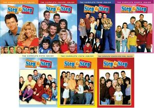 Step By Step The Complete TV Series Season 1 2 3 4 5 6 & 7 (1-7) NEW DVD Set!