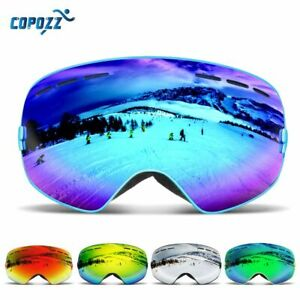 COPOZZ Men Women Ski Goggles Snowboard Goggles Skiing Glasses UV400 Protection