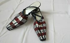 Women's Gabor shoes red / white / navy color size 5 BNWOB