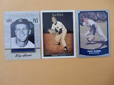 TONY KUBEK baseball card lot (3 cards) New York Yankees - NY Yankees
