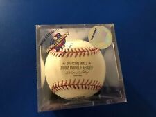 2002 Official World Series Baseball Giants v Angels! New Unopened Box!