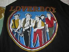 LOVERBOY VINTAGE 1982 CONCERT TOUR TEE SHIRT MEDIUM