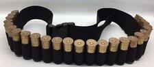 25 SHELL TACTICAL SHOTGUN AMMO SLING BANDOLEER BELT - 12 & 20 gauge USA MADE