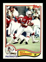 1982 Topps #144 Matt Cavanaugh  NM/NM+ X1612988