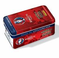 Road Euro 2016 Adrenalyn Tin Box 9 Bustine + 1 Limited Card Panini
