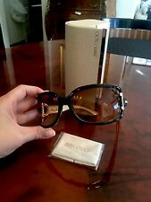 Authentic Jimmy Choo Sunglass-Brown Lense Include Carrying Box & Cleaning Cloth
