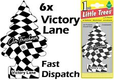 "MAGIC TREE ""LITTLE TREE"" VICTORY LANE FRAGRANCE CAR AIR FRESHENERS PACK OF 6"