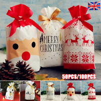 10M Gold Season Greetings New Script Christmas Clear Cellophane Gift Wrap Film
