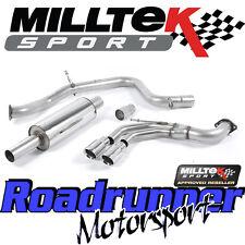 "Milltek Golf MK7 GTD 2.0 TDI 185PS 3"" Gato Sistema De Escape Trasero Para SSXVW241"