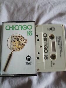 Chicago - Chicago 16 cassette tape album. IMD label Saudi Import